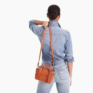 J. Crew Bags - New J. Crew Harper Mini Satchel in Italian Leather